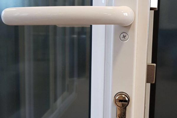Lever White Handle