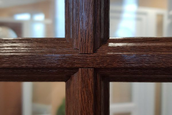 Beautiful Astragal Crucifix Bars
